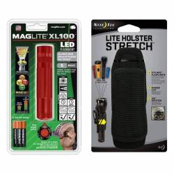 Maglite LED XL 100 rouge...